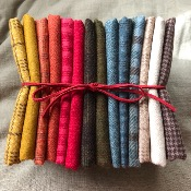 "Conjunto de 14 Franelas 25x55 cm ""Wool&Needle Collection """