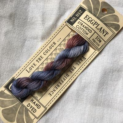 "Hilo para bordar Cottage Garden Threads ""Eggplant"" 10 m."