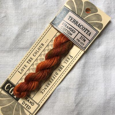 "Hilo para bordar Cottage Garden Threads ""Terracota"" 10 m."