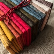 "Conjunto de 14 Franelas 25x110 cm ""Wool&Needle Collection """