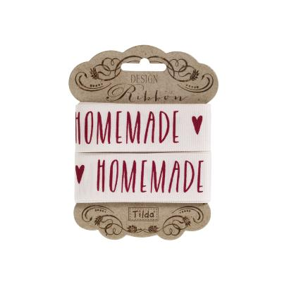 "Cinta decorativa Tilda ""Homemade Red"""