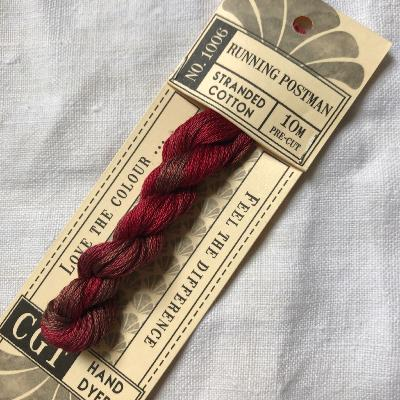 "Hilo para bordar Cottage Garden Threads ""Running Postman"" 10 m."