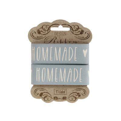 "Cinta decorativa Tilda ""Homemade Grey"""