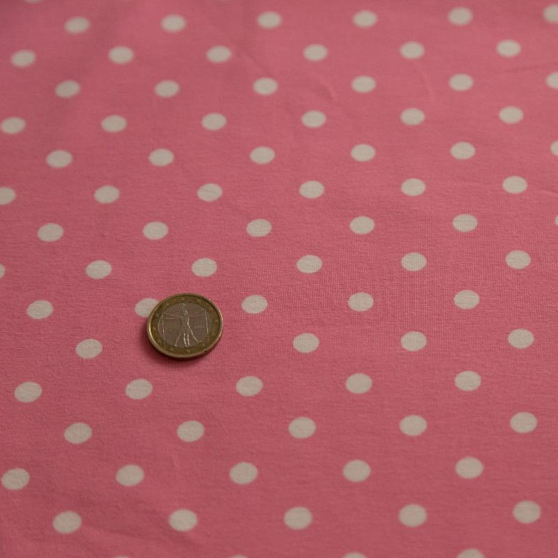 Rose Dots Jersey rosa