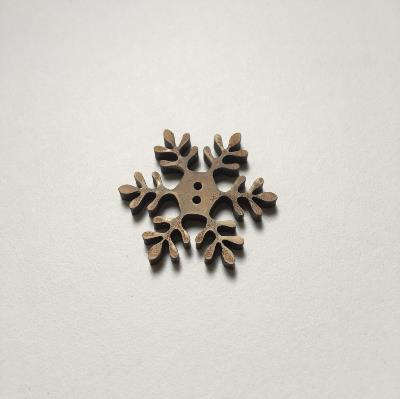 Botones Theodora Cleave - Snow Flake Button