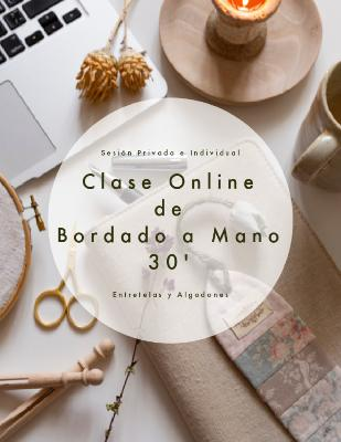 Sesión Privada e Individual de Bordado 30 ' (On Line)