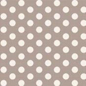 "Tela Tilda ""Medium Dots Grey"""