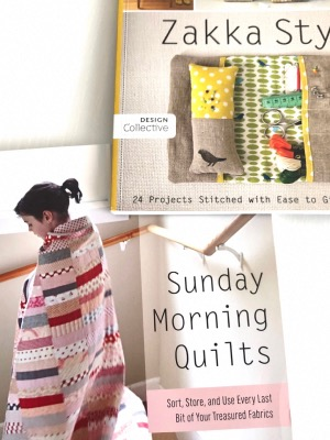 "Pack Libros ""Zakka  Style"" y ""Sunday Morning Quilts"""